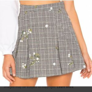 Majorelle Agatha Mini Skirt Plaid Large